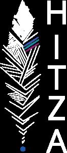 Logo Hitza blanc